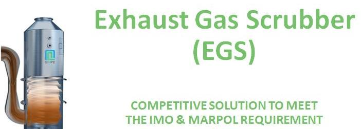 Exhaust Gas Scrubber